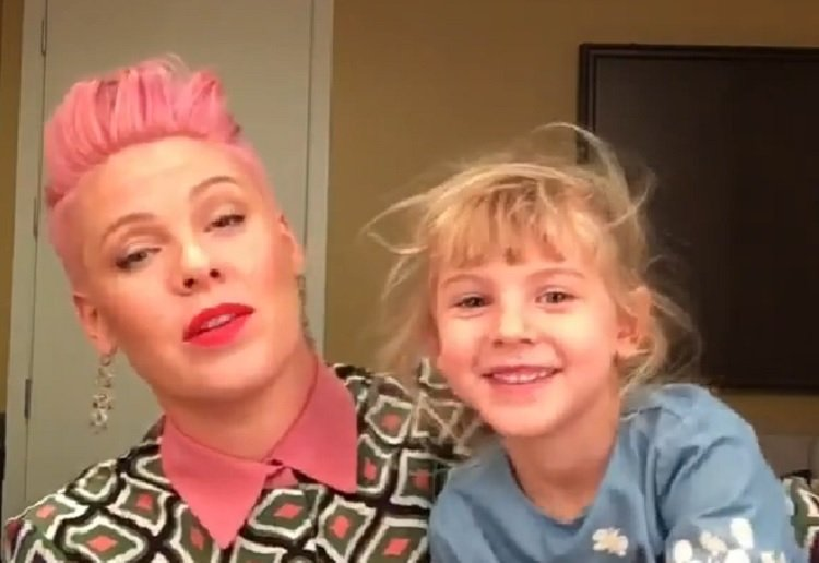 Did you catch P!nk LIVE on Facebook?
