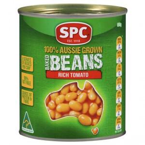 Spc Baked Beans Extra Tomato Sauce