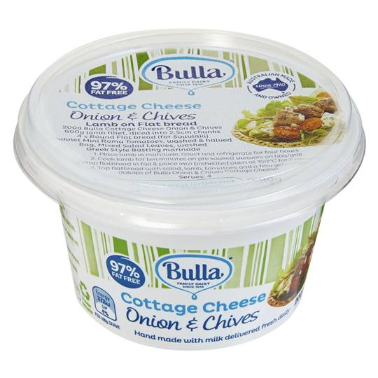 Bulla Onion & Chives Cottage Cheese