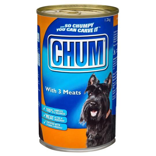 Chum Adult Dog Food 3 Meats