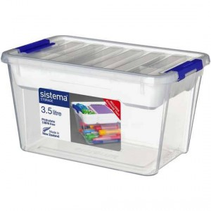 Sistema Storage With Tray 3.58l