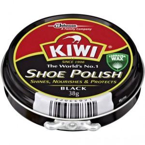Kiwi Shoe Care Polish Black