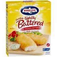 Birds Eye Oven Bake Lightly Battered Fish