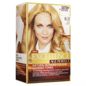 L'oreal Excellence Age Perfect Radiant Pure Beige Blonde 8.3