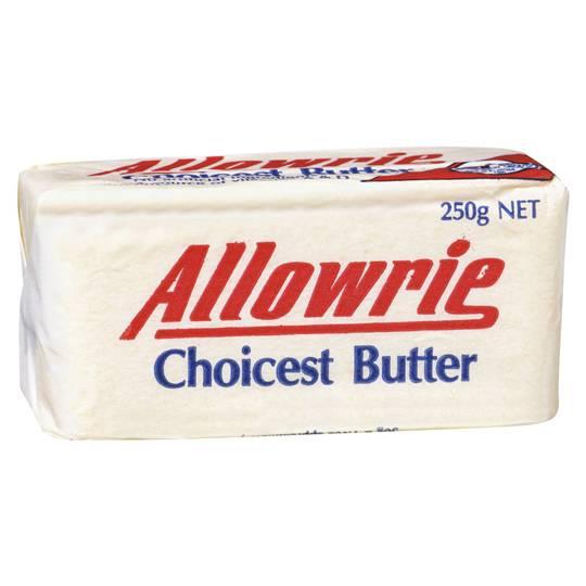 Allowrie Butter