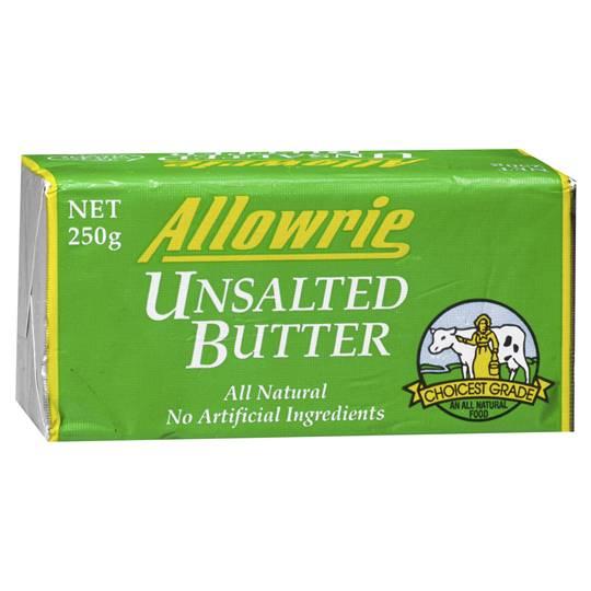 Allowrie Unsalted Butter