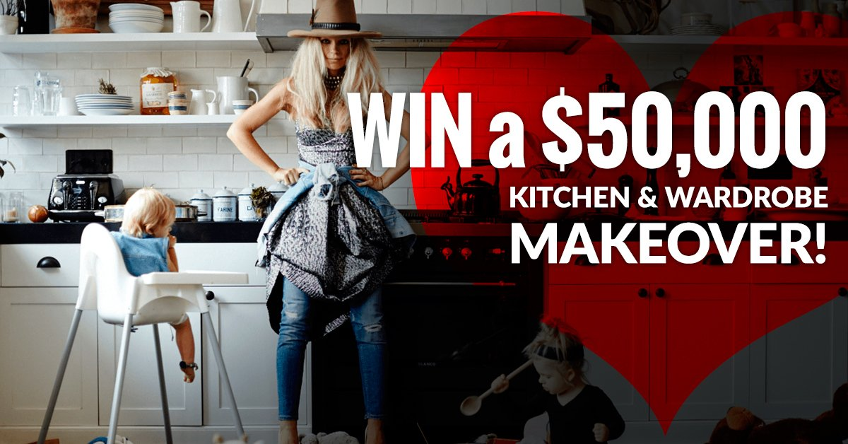 Win A 50 000 Kitchen And Wardrobe Makeover Competition