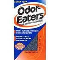 Odor Eaters Shoe Care Insoles Work Wear Super Tuff
