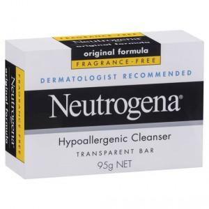 Neutrogena Facial Cleanser Hypoallergenic Bar
