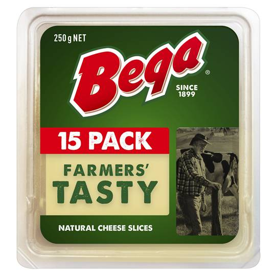 Bega Tasty Natural Cheese Slices