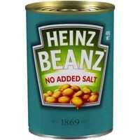 Heinz Baked Beans Tomato Sauce No Added Salt