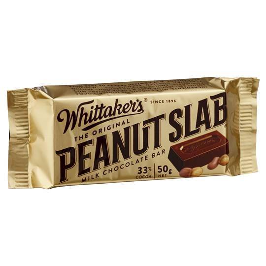 Whittakers Peanut Slab Milk Chocolate