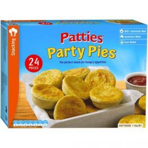 Patties Party Pies