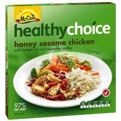 Erintonkin23 reviewed Mccain Healthy Choice Chicken Honey & Sesame
