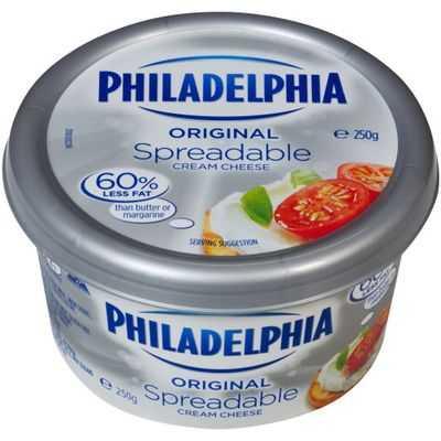 Kraft Philadelphia Spreadable Tub