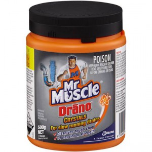 Mr Muscle Drano Drain Cleaner Crystals Ratings Mouths Of