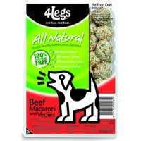 4legs Adult Dog Food With Macaroni & Vegetable