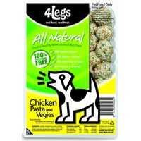 4legs Adult Dog Food Pasta Chicken & Vegetable