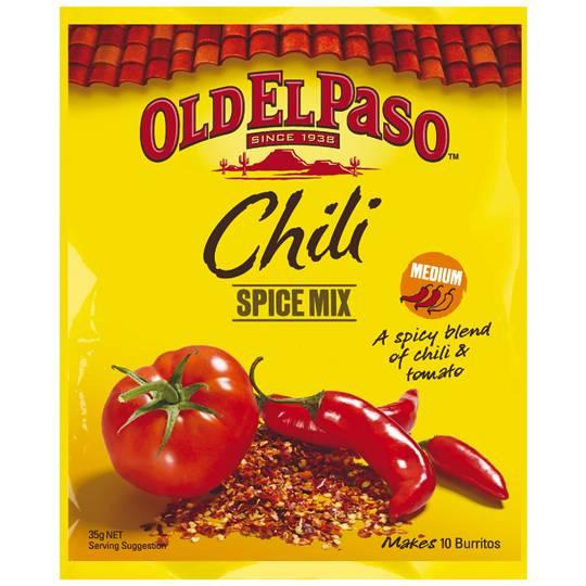 Old El Paso Chilli Spice Mix