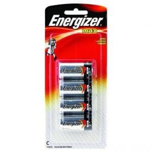 Energizer Max Type C Batteries