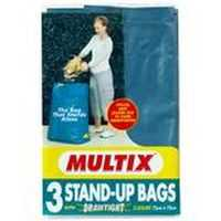 Multix Drawtight Stand Up Garbage Bags