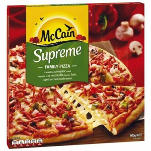 Mccain Supreme Pizza
