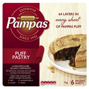 Pampas Puff Pastry Ready Rolled 6 Sheets