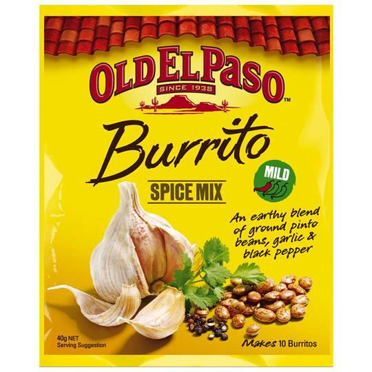 Old El Paso Burrito Spice Mix