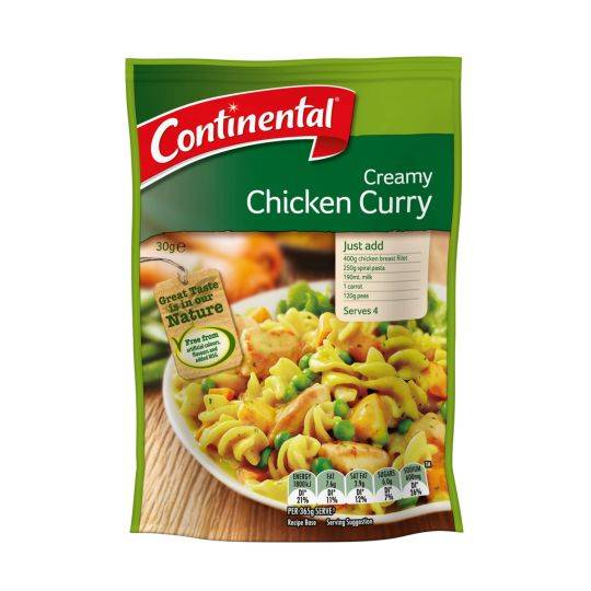 Continental Recipe Base Creamy Mushroom Chicken
