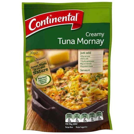 Continental Recipe Base Creamy Tuna Mornay