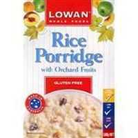 Lowan Gluten Free Cereal Rice Wih Orchard Fruits