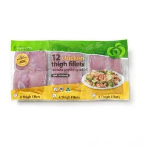 Chicken Thigh Skinless Fillets Small