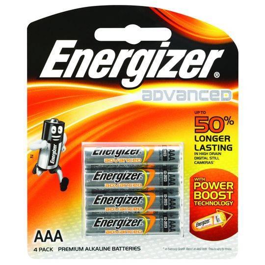 Energizer Advanced Aaa Batteries