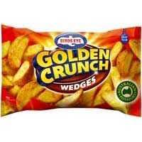 Birds Eye Potato Wedges Golden Crunch
