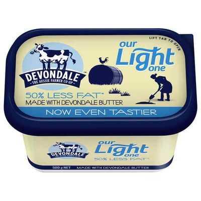 Devondale Light Blend Butter