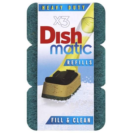 Dishmatic Heavy Duty Sponge Refill