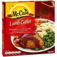 Mccain Dinner Lamb Cutlet & Gravy