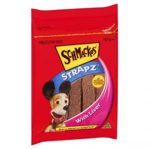 Schmackos Treat Liver Strapz