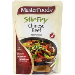 Masterfoods Stir Fry Sauce Chinese Beef