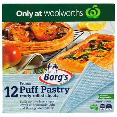 Borg's Traditional Puff Pastry