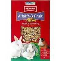 Peters Alfalfa & Fruit Rabbit & Guinea Pig Food