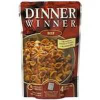 Dinner Winner Pasta Beef