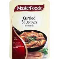 Masterfoods Recipe Base Curried Sausages