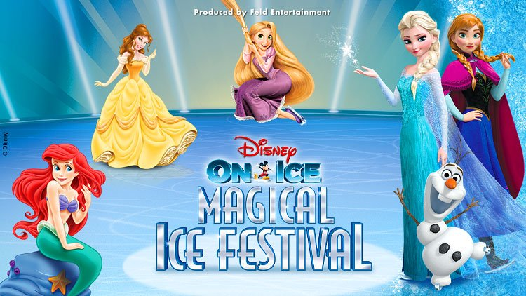 WIN two tickets to see Disney On Ice presents Magical Ice Festival