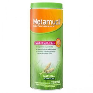Metamucil Daily Fibre Supplement Natural Granular Coarse 72 Doses