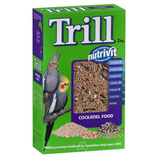Trill Bird Food Cockateil