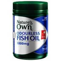 Nature 39 s own odourless fish oil 1000mg capsules ratings for Fish oil pills for buttocks review