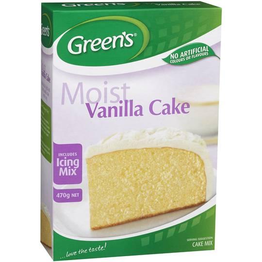 Greens Cake Mix Traditional Vanilla Ratings