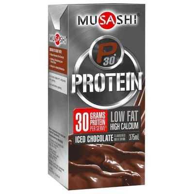 Musashi P30 Protein Chocolate Malt Low Fat