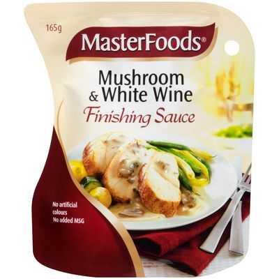 Masterfoods Finishing Sauce Mushroom & White Wine